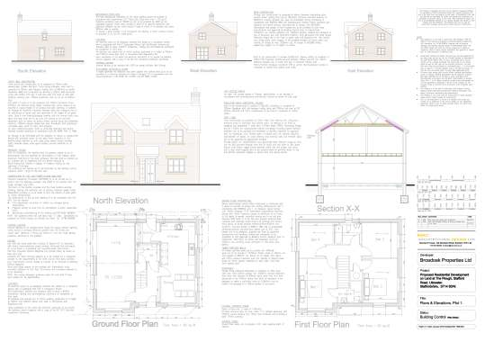 Plot 1 Plans and Elevations 1596-05 revision B_